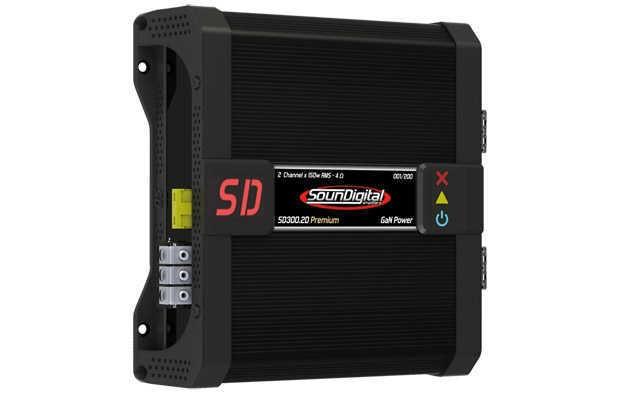 Amplificador automotivo Soundigital SD300.20 Premium