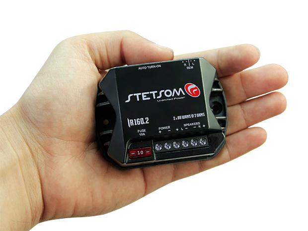 Stetsom lança o menor amplificador do Mundo