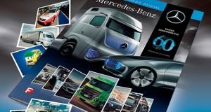 Mercedes-Benz do Brasil lança álbum de figurinhas para contar os 60 anos da Empresa