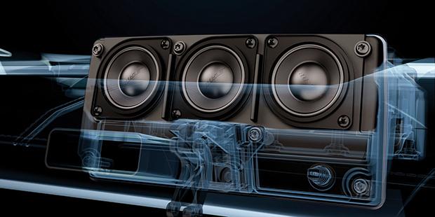 Bose Panaray Sound System é o mais avançado sistema de som automotivo já produzido pela empresa.