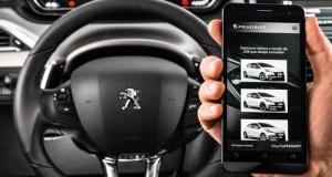 Painel Digital: Peugeot apresenta aplicativo com tecnologia de realidade aumentada