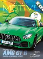 Capa da edição 107, de Agosto de 2016, da Revista AutoMOTIVO