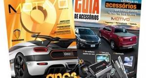 Revista AutoMOTIVO faz 9 anos e, no mesmo mês, lança o GUIA DE Acessórios para o CONSUMIDOR