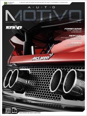 Capa da edição 109, de Outubro de 2016, da Revista AutoMOTIVO