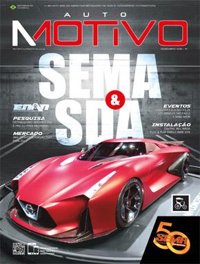 Capa da edição 111 da Revista AutoMOTIVO