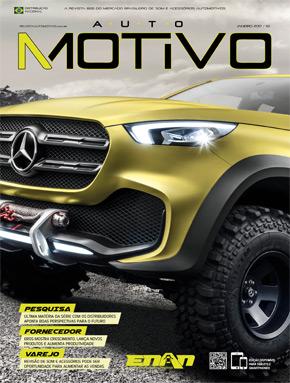 Capa da edição 112 da Revista AutoMOTIVO