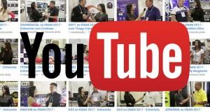 Entrevistas com expositores do ENAN 2017 já estão disponíveis no nosso canal