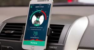 Aplicativo de música alerta para velocidade no trânsito