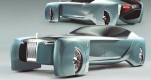 Rolls-Royce Vision Next 100, uma visão do luxo no futuro