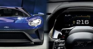 Conheça o painel digital do Ford GT