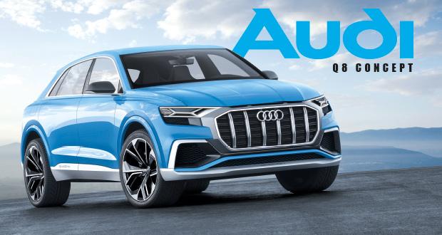 Audi Q8 Concept prova que ainda dá para inovar no mercado de SUVs