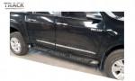 ESTRIBO DE PLÁSTICO INJETADO - Estribo desenvolvido especificamente para cada modelo de veículo. Com design moderno e inovador e perfil em plástico com antiderrapante. Suporte em aço que garante a qualidade e durabilidade do produto.