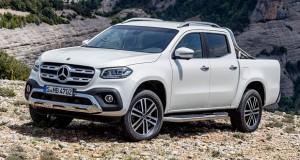Mercedes revela as versões da sua pick-up que serão comercializadas na Europa