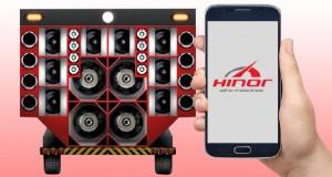 Hinor apresenta APP para paredões de som
