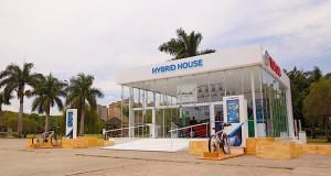 Toyota inaugura espaço Hybrid House no Parque Villa Lobos