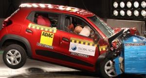Kwid supera Ka e Onix em testes de segurança