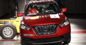 Nissan Kicks leva 4 estrelas em teste de segurança
