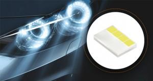 OSRAM lança semicondutor LED de cinco chips para faróis automotivos