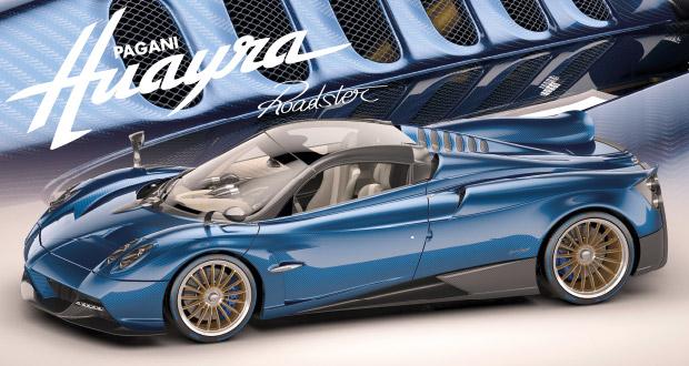 Pagani Huayra Roadster – Um hiper-esportivo para poucos
