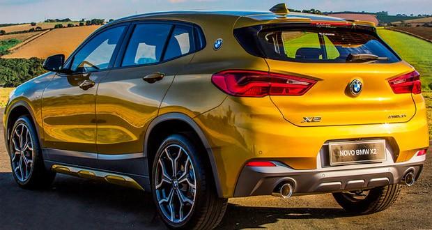 BMW X2 Traseira Vendas Importados Julho