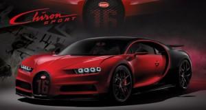 Bugatti Chiron Sport: + Esportivo, + Sofisticado, + Veloz