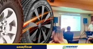 Highway Goodyear realiza evento para promover novos pneus da marca