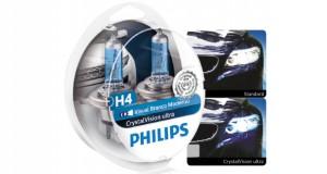 Lâmpadas Halógenas CrystalVision Ultra, da Philips
