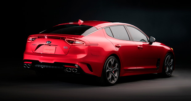 Stinger GT: sedã esportivo marca novo posicionamento da Kia