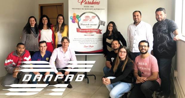 Danfab comemora 24 anos de história!