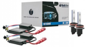 Kit Lâmpada Automotiva Xenon, da Tech One