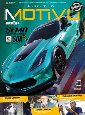 Capa da edição 135, de dezembro de 2018, da Revista AutoMOTIVO