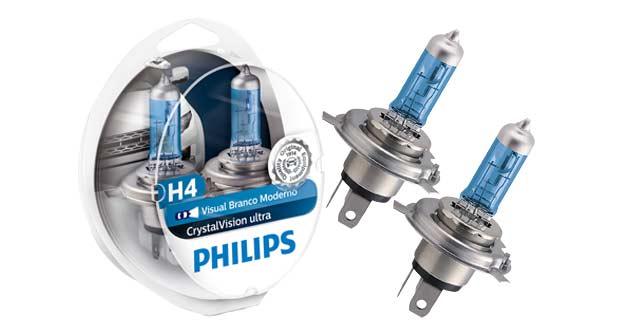 Lâmpadas CrystalVision Ultra, da Philips