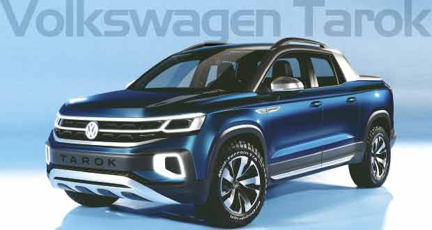 Volkswagen Tarok: Um novo estilo de Pick-up