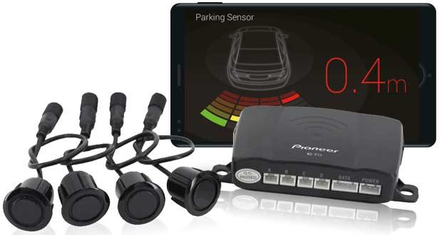 Pioneer lança sensor de estacionamento compatível com Smartphone Receiver