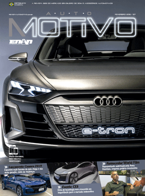 Capa da edição 137, de fevereiro de 2019, da Revista AutoMOTIVO