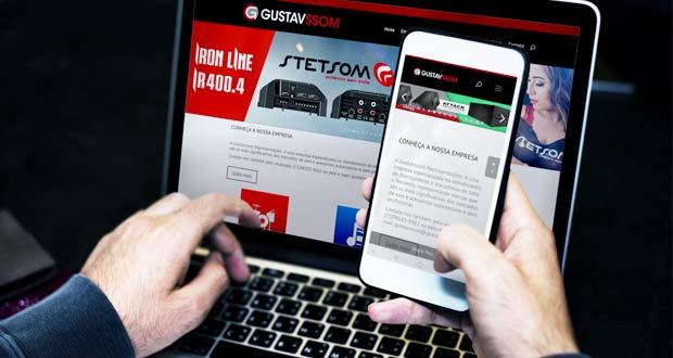 Gustavssom Representações apresenta novo site!