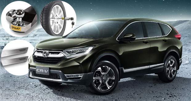 Honda CR-V 2019 ganha novos acessórios dedicados!