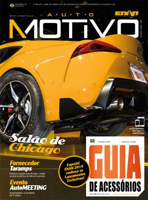 Capa da edição 138, de março de 2019, da Revista AutoMOTIVO
