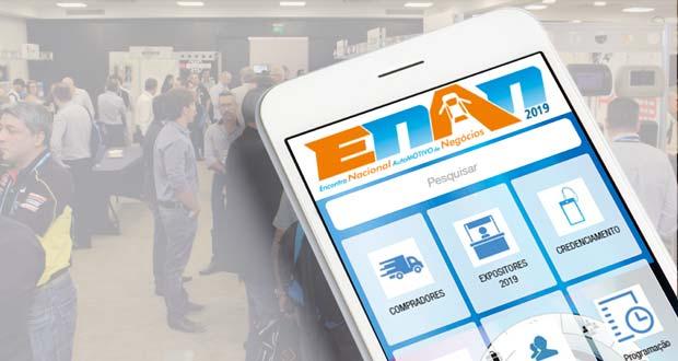 Aplicativo do ENAN 2019 contém informações completas sobre o evento