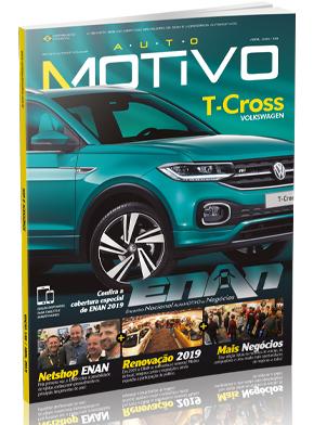 Capa da edição 139, de abril de 2019, da Revista AutoMOTIVO