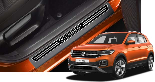 Soleira para VW T-Cross, da NP Adesivos