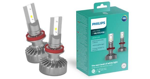 Lâmpada LED neblina, da Philips