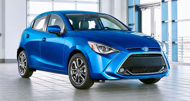 Toyota Yaris terá nova cara nos EUA