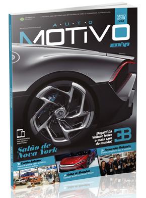 Capa da edição 140, de maio de 2019, da Revista AutoMOTIVO