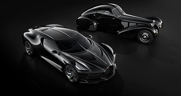 Bugatti La Voiture Noire: O mais caro do Mundo!