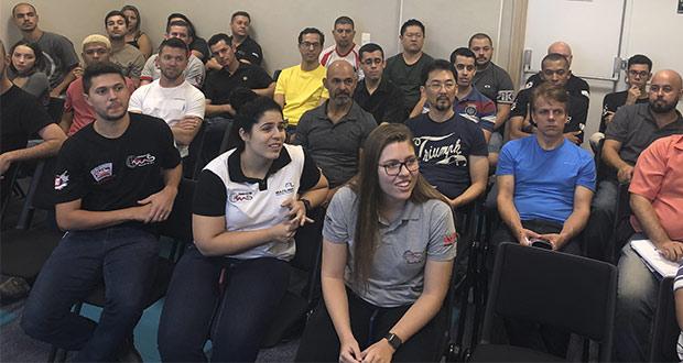 Distribuidora Comercial MS promove workshop para lojas, onde apresenta novos produtos adquiridos no ENAN-NETSHOP