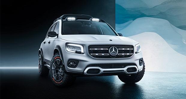 Mercedes-Benz GLB Concept – Uma mistura de conceitos em um belo carro!