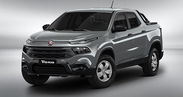 Fiat Toro: Dianteira ganhou novo design com novo design com para-choque tipo overbumper