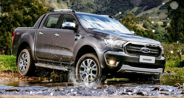 Ford Ranger 2020 ganha acessórios de segurança