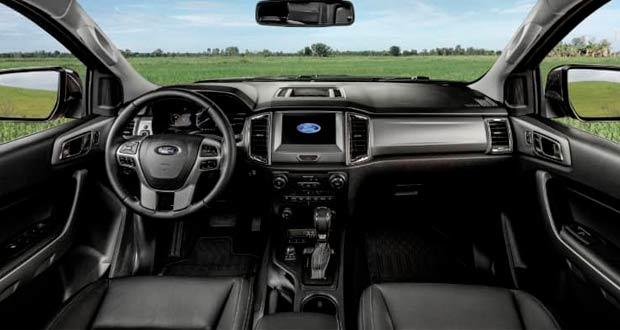 Ford Ranger 2020 interior